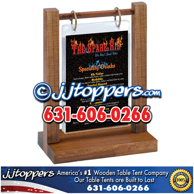 sc 1 st  Wooden Table Tents & Designer Wood Table Tents | JJToppers.com